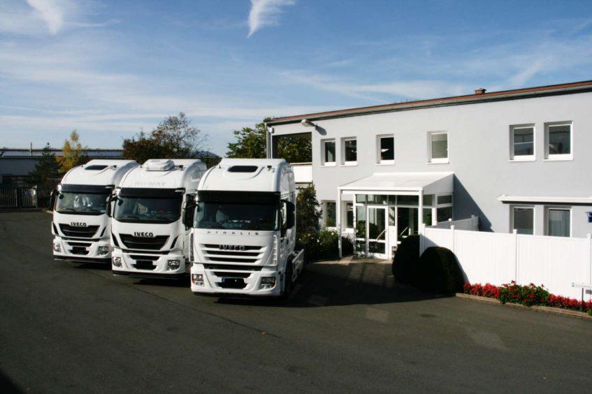 Fahrzeuge- Buro Heinrich Erlwein Speditions GmbH & Co.KG